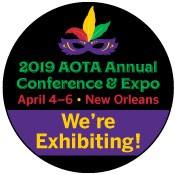 AOTA 2019 - We're Exhibiting