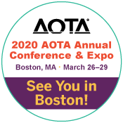 AOTA 2020 - We're Exhibiting!